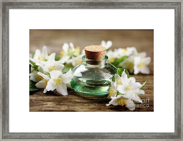 Aromatic Oil Framed Print