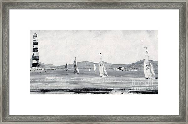 Around The Cape Framed Print