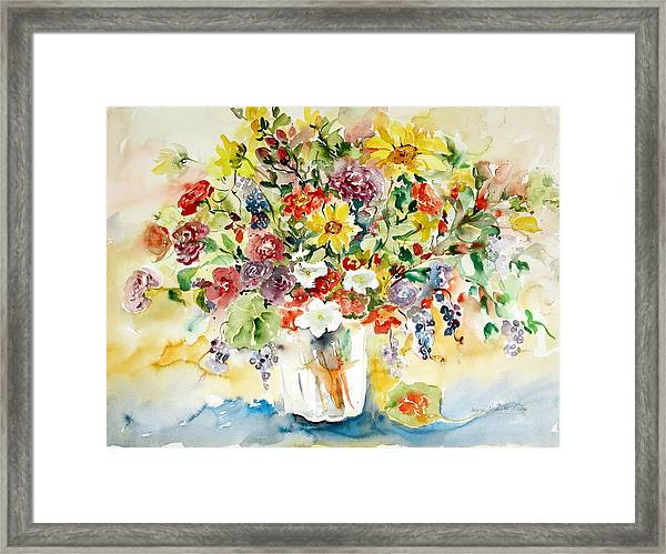 Arrangement IIi Framed Print