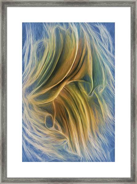 Arrhythmia And Blues Framed Print