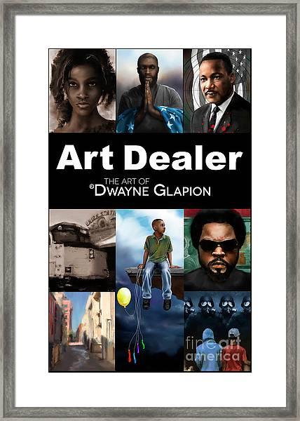 Art Dealer Promo 1 Framed Print