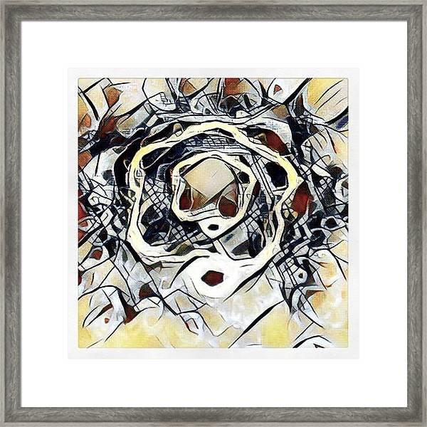#art #digitalart Framed Print by Michal Dunaj