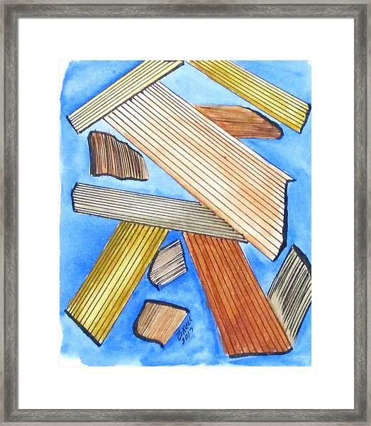 Art Doodle No. 24 Framed Print