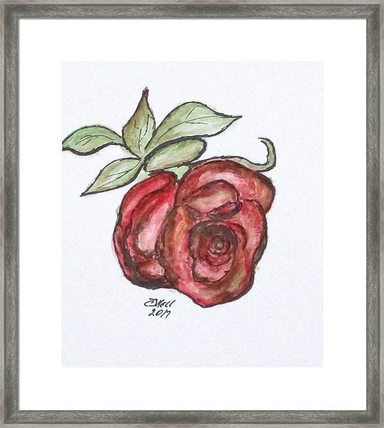 Art Doodle No. 29 Framed Print