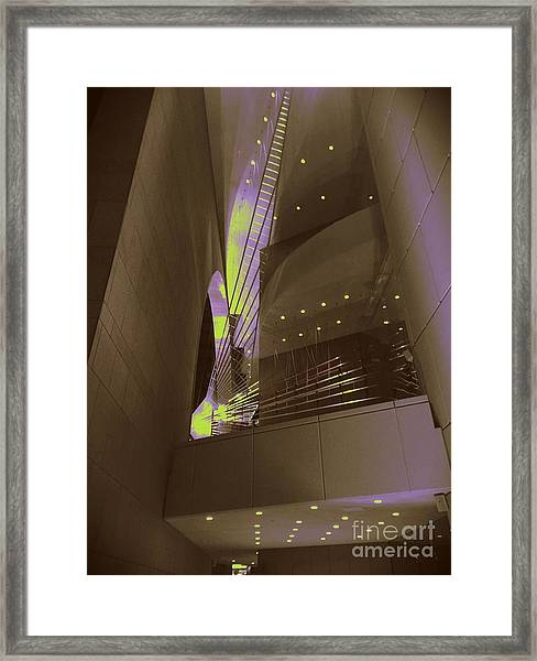 Art-itecture Framed Print