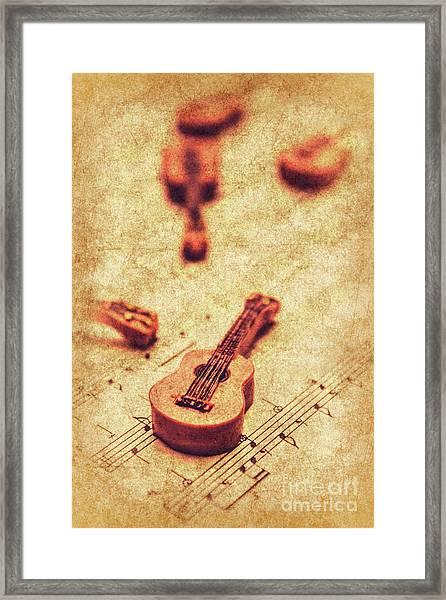 Art Of Classical Rock Framed Print