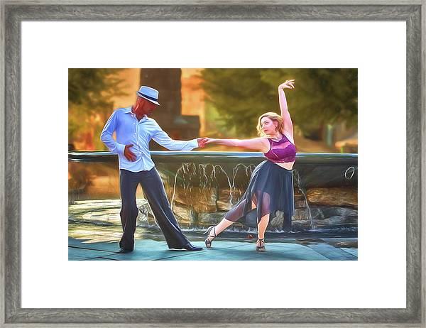 Art Of The Dance Framed Print by John Haldane