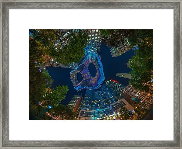 Art On The Greenway 1 Framed Print