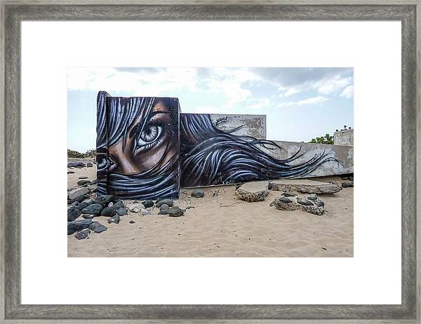 Art Or Graffiti Framed Print