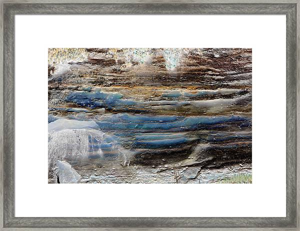 Art Print Cliff 1 Framed Print