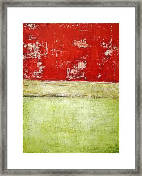 Art Print Rotgelb Framed Print