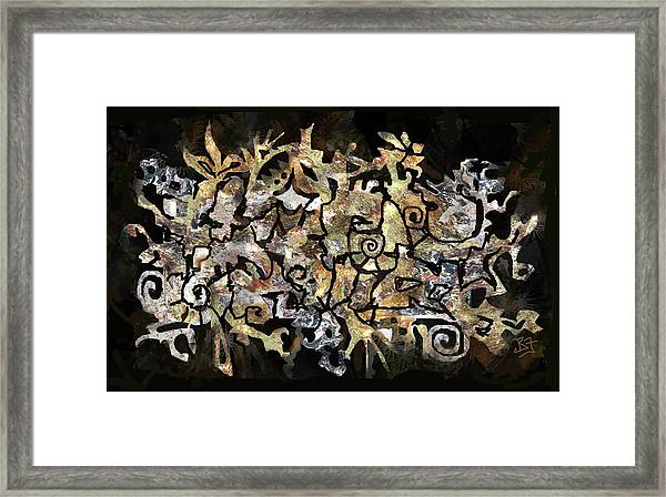 Artifacts Framed Print