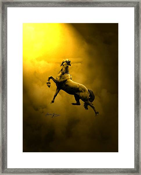 Artist In Heaven  Framed Print