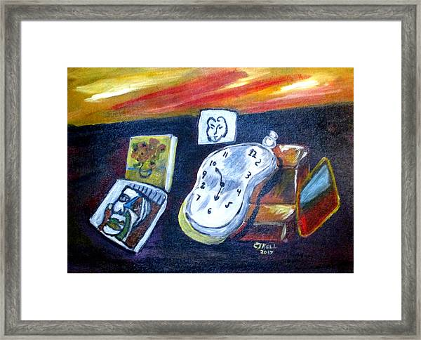 Artists Dream Framed Print
