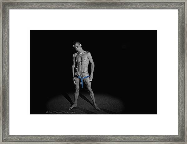 Arty Belt Framed Print