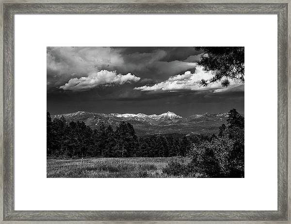 Framed Print featuring the photograph As Summer Begins by Jason Coward