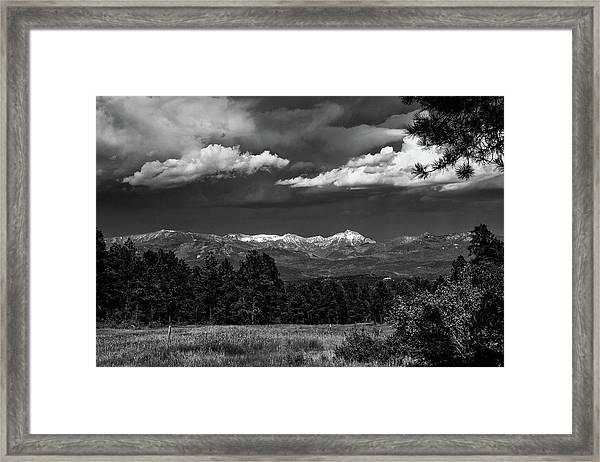 As Summer Begins Framed Print