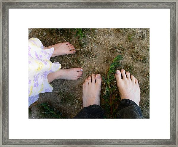 As We Grow Framed Print