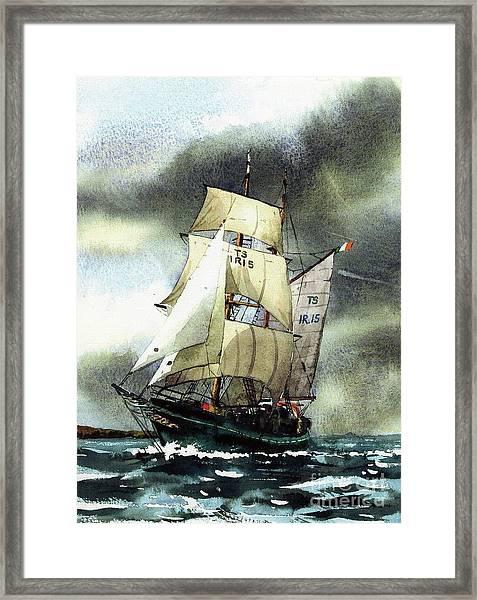 F  758  Asgard 11 Often Sailed Along The Wild Atlantic Way Framed Print
