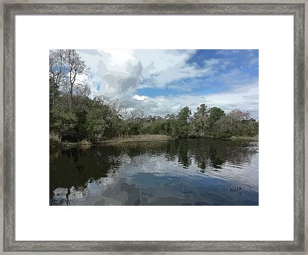 Ashley River Framed Print