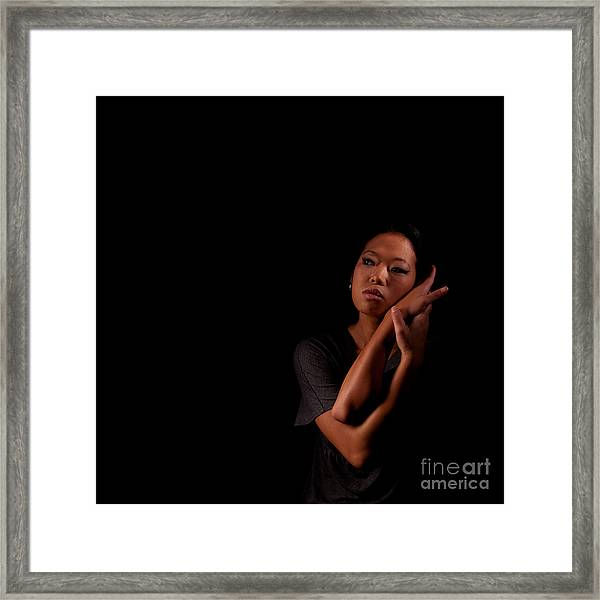 Asian Beauty 1284569 Framed Print