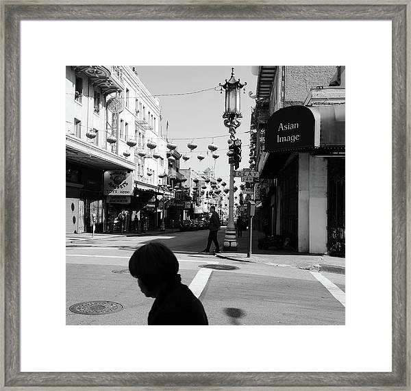 Asian Image Framed Print