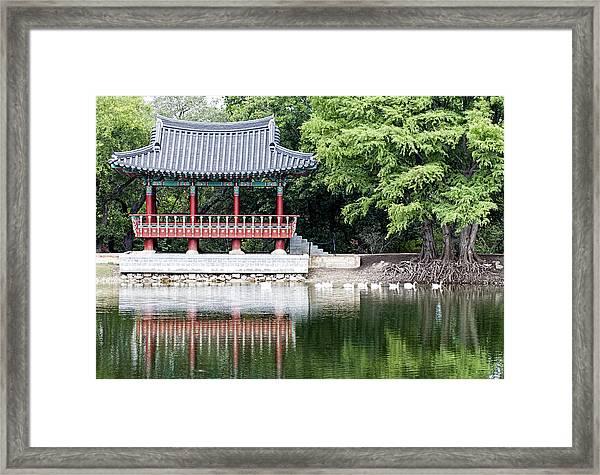 Asian Theater Framed Print