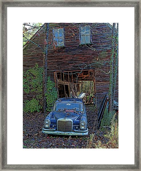 Asleep At The Wheel Framed Print