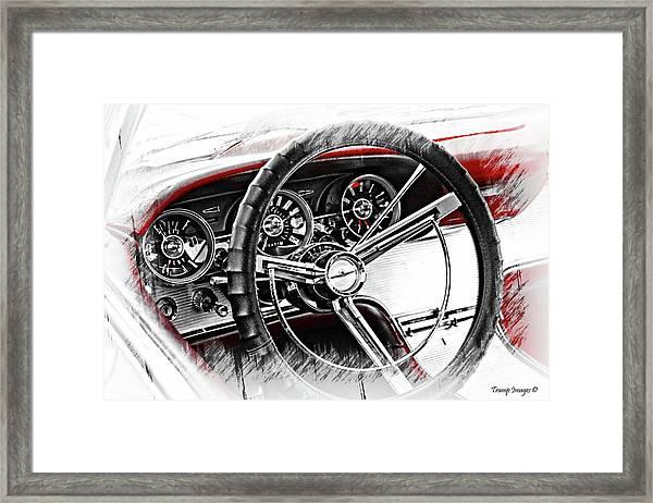 Asleep At The Wheel Framed Print