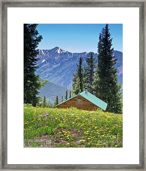 Aspen Spring Framed Print