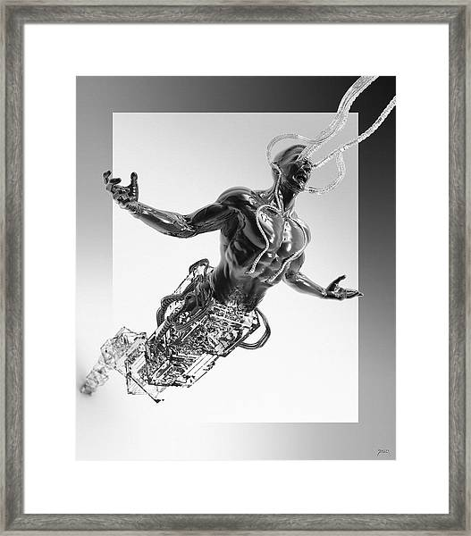 Assimilation Framed Print