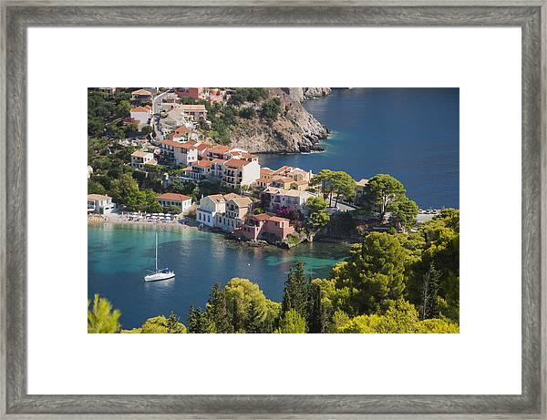 Assos In Greece Framed Print