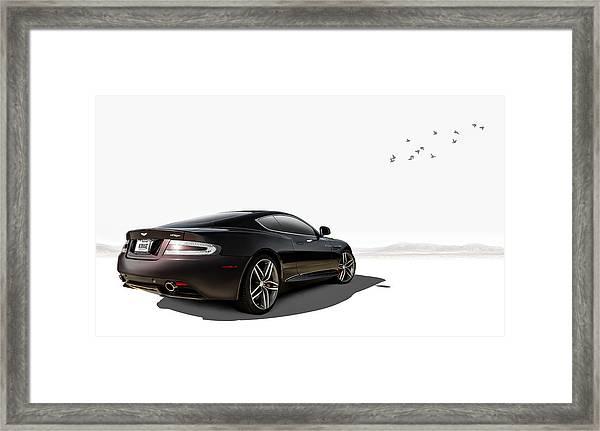 Aston Martin Virage Framed Print