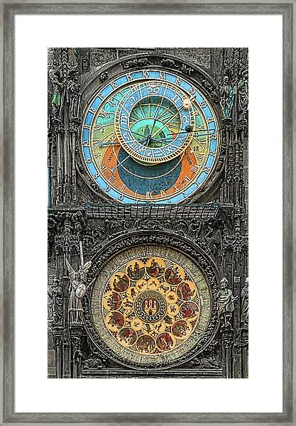 Astronomical Hours Framed Print