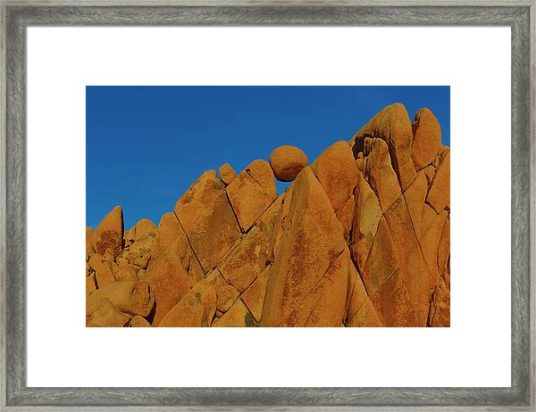 Asymmetry Framed Print