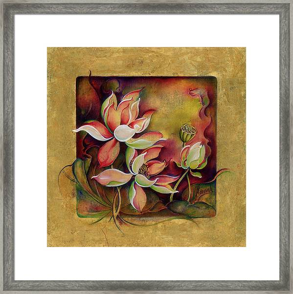 At A Family Wander Framed Print