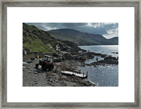 At Niarbyl Point Framed Print by Steve Watson