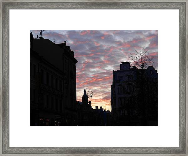 At Peace Framed Print