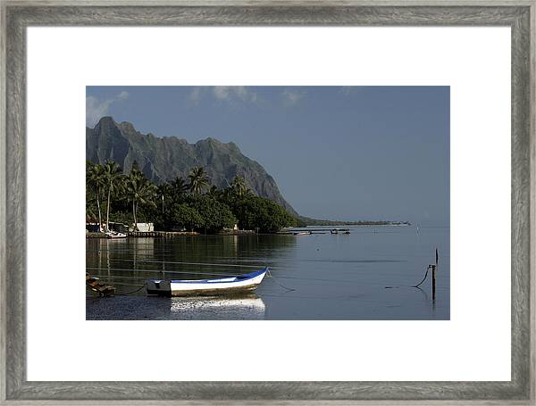 At Rest, Oahu Framed Print