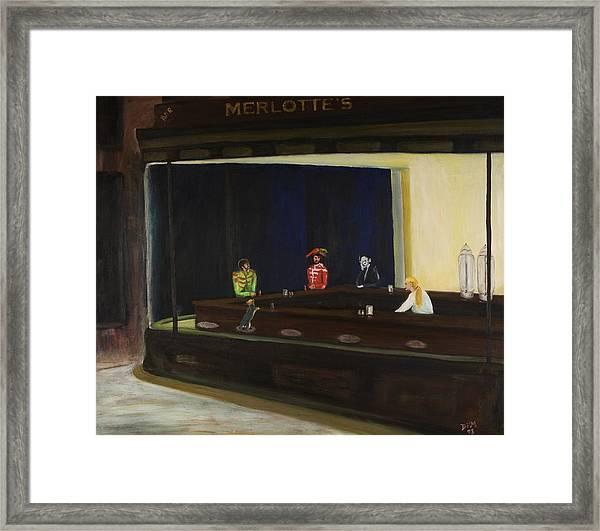 At Sam's Framed Print by David McGhee