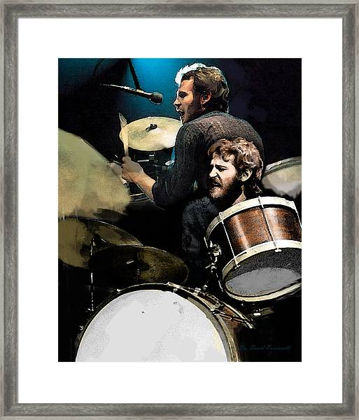 The Helm  Levon Helm  Framed Print