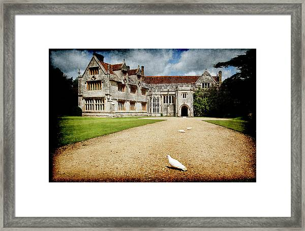 Athelhamptom Manor House Framed Print