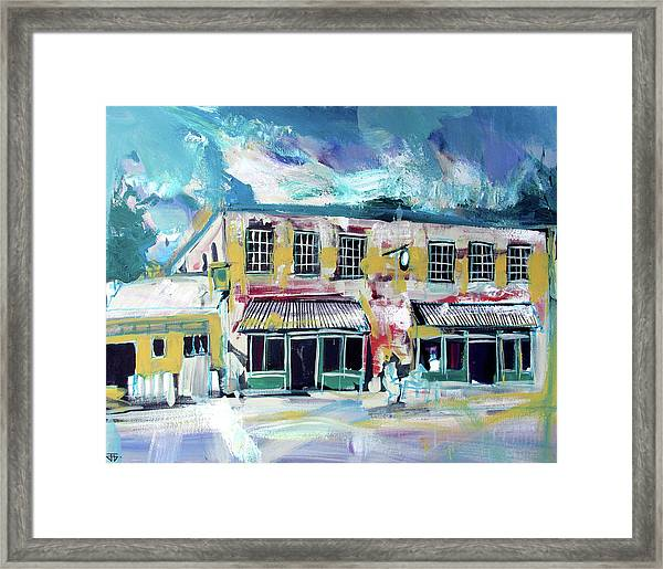 Athens Ga The Grit Framed Print