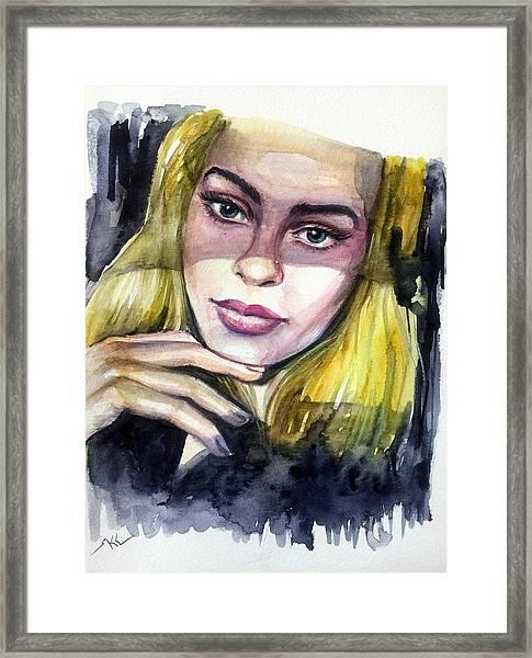 Athina Framed Print