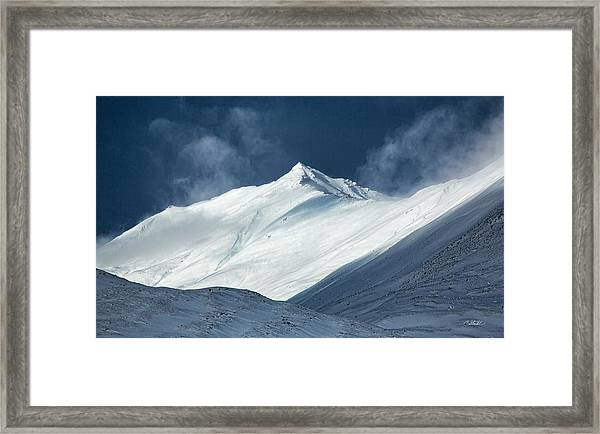 Atigun Pass In Brooks Range Framed Print