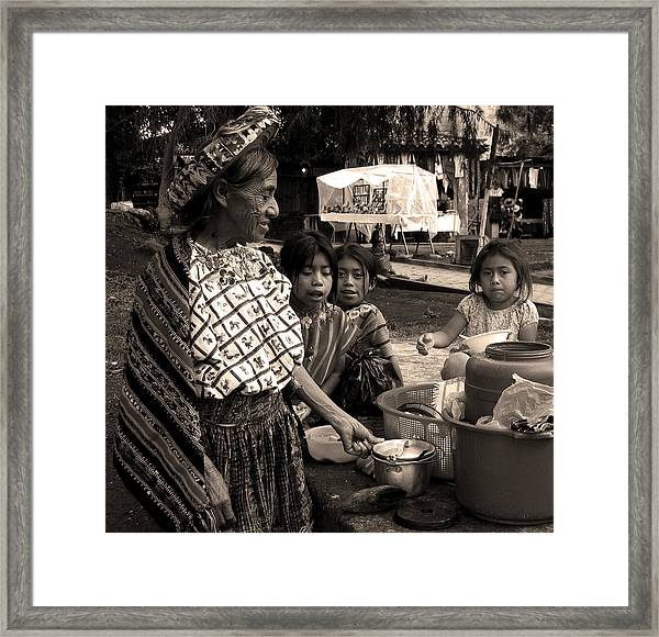 Atitlan Framed Print