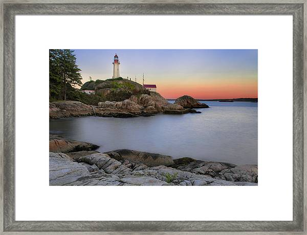 Atkinson Point Lighthouse Framed Print