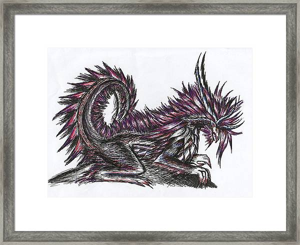 Atma Weapon Catoblepas Fusion Framed Print