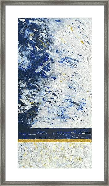 Atmospheric Conditions, Panel 1 Of 3 Framed Print