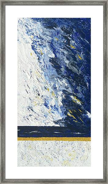 Atmospheric Conditions, Panel 2 Of 3 Framed Print